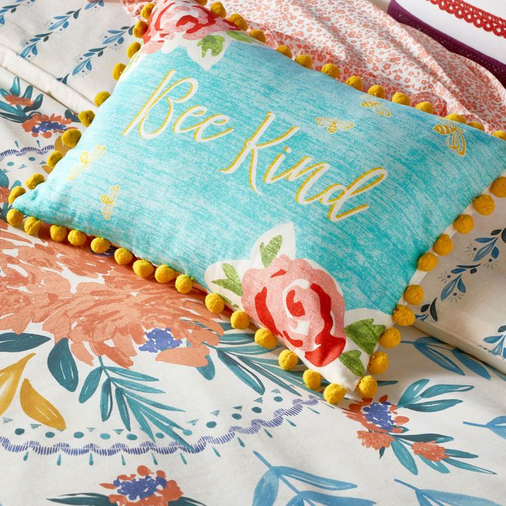 Pin By Abhijay Janu On Homes: NEW 2017 The Pioneer Woman Bee Kind 12x16 Decorative