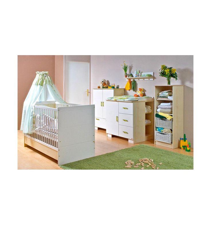 Chambre à coucher bébé complète LILLA - Chambre bébé
