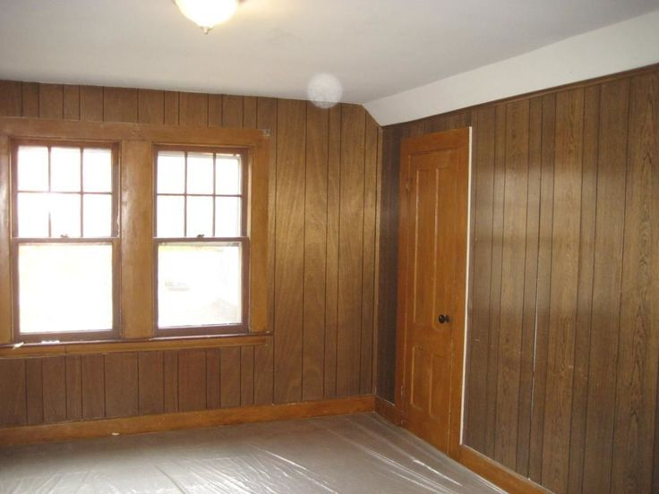 Creative Ways Cover Wood Paneling Painted Walls Painting Panel