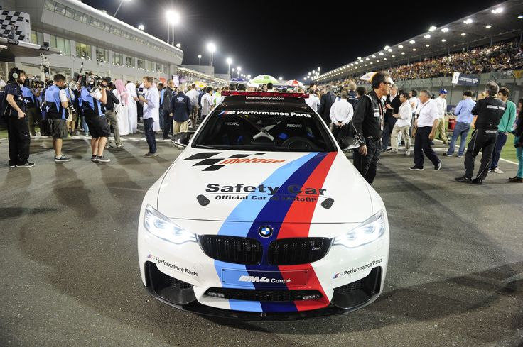 BMW M4 Coupe Official Car of MotoGP - http://www.bmwblog.com/2014/03/24/bmw-m4-coupe-official-car-motogp/