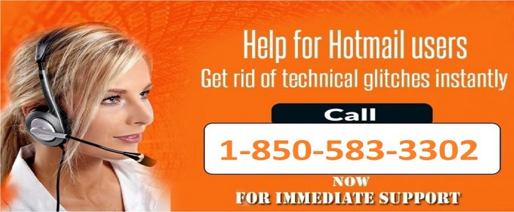 Hacked Hotmail Account Recovery: 1-850-583-3302