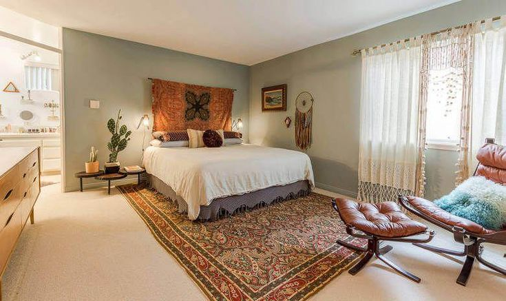 Die grundlegende Norm für das moderne Schlafzimmer-Layout im Bohème-Stil ist …   – bohemian bedroom