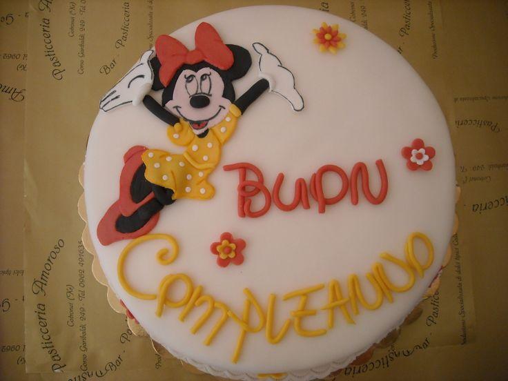 buon compleanno da #Minnie
