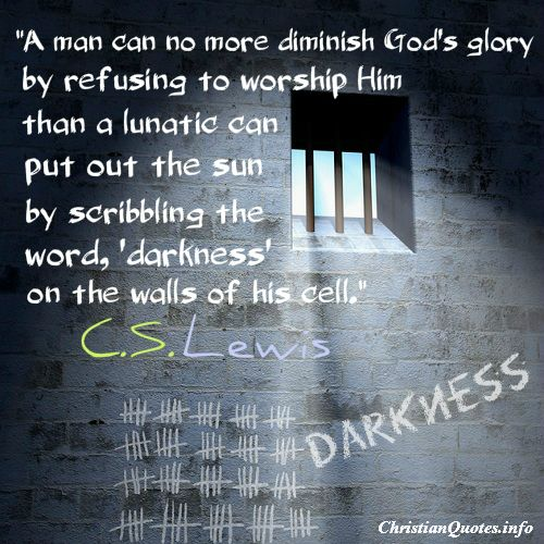 c.s.lewis+quotes | Lewis Quote - God's Glory - Christian Quotes