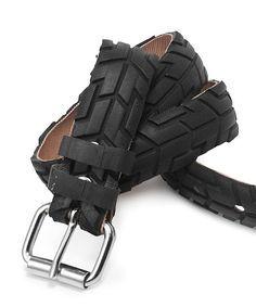 Belt made from Bike tire