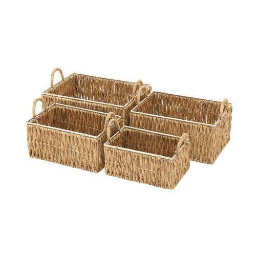 Useful Set Of Four Sea Grass Baskets
