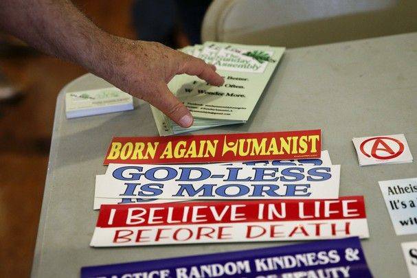 Born Again Humanist,  God-Less Is More,  I Believe In Life Before Death, Practice Random Kindness Sunday Assembly.Com  founded by British comedians Sanderson Jones & Pippa Evans  Nov. 10, 2013  Los Angeles Ca http://www.knoxnews.com/photos/2013/nov/10/404751/   LorettaMaine.com is Pippa Evans .Com   http://www.digplanet.com/wiki/Pippa_Evans http://popcultureandcoke.com/2013/03/23/interview-pippa-evans/ Site Says Loretta Maine/ Pippa Evans  http://www.mattblairmusic.com/#!links/c2515