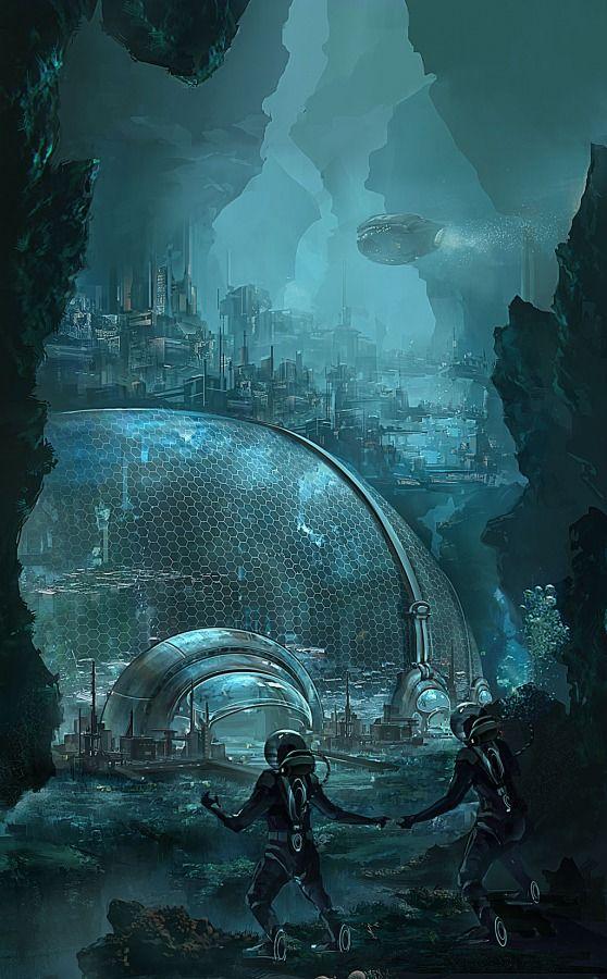 Undersea por  Claramoon #atlantis