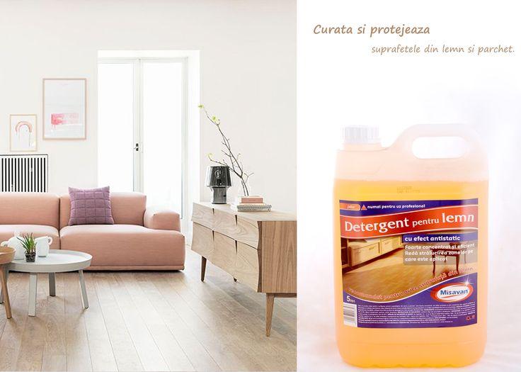Va propunem un detergent lichid concentrat pentru curatarea si intretinerea tuturor suprafetelor din lemn: http://www.produse-horeca.ro/tratamente-suprafete-servicii/detergent-pentru-lemn-jaba-5l #curatenie #lemn #misavan