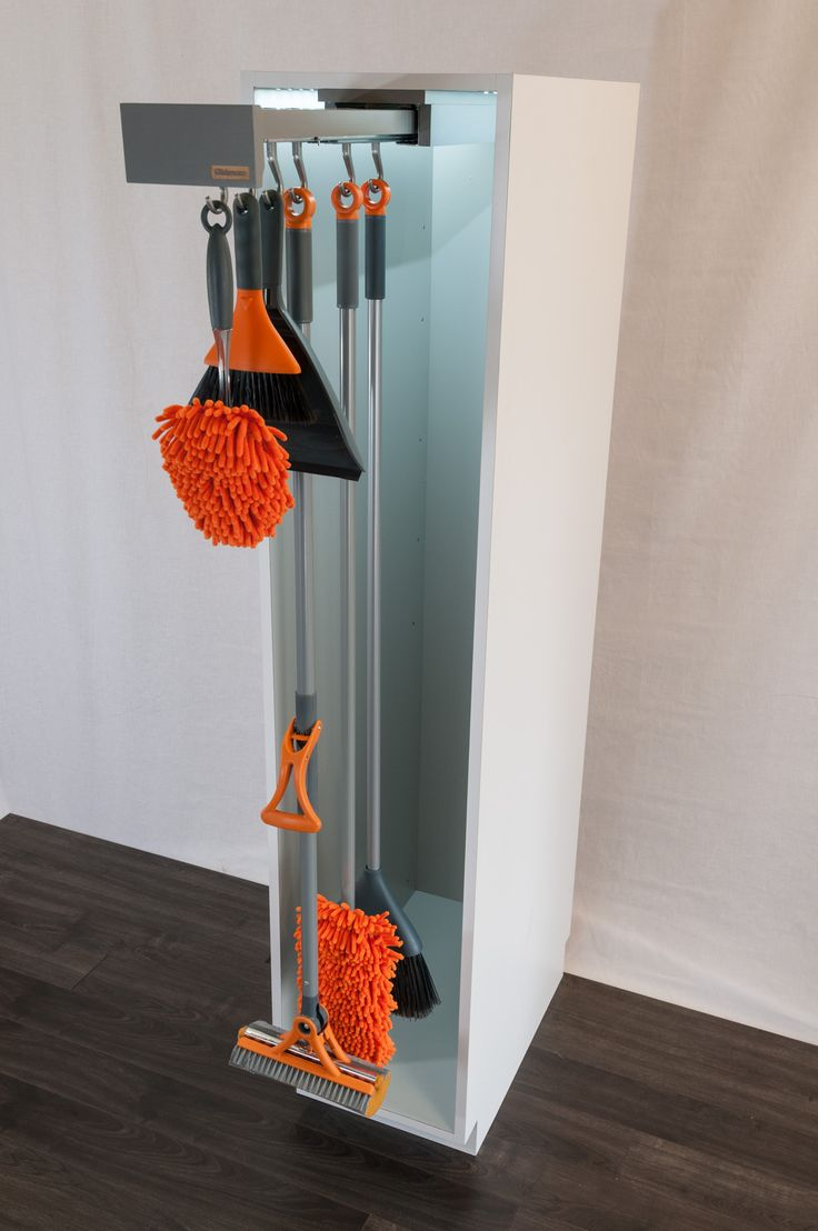 17 Best Images About Storing Mops And Brooms On Pinterest