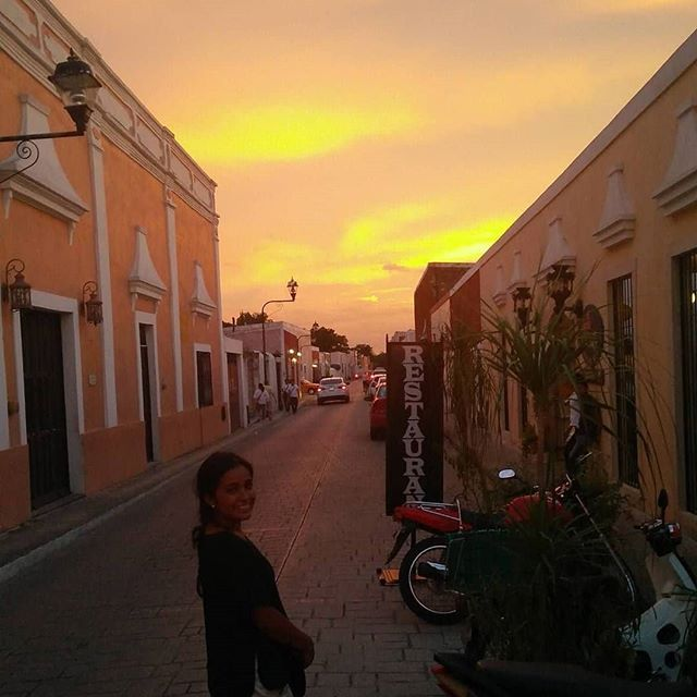 No Filter In Valladolid Mexico Sunset Valladolid Colonial