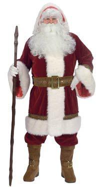 Santa Claus Costume Deluxe Old Time Santa Costume - Santa Costumes
