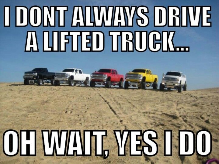 All chevy's now need 5 Ford's and 5 Dodge trucks to make a big family lol. one breaks down got back. a family member or friends needs a truck got others to drive. weecked one NP got plenty back up lol. just need a place to park them all HA HA!!!