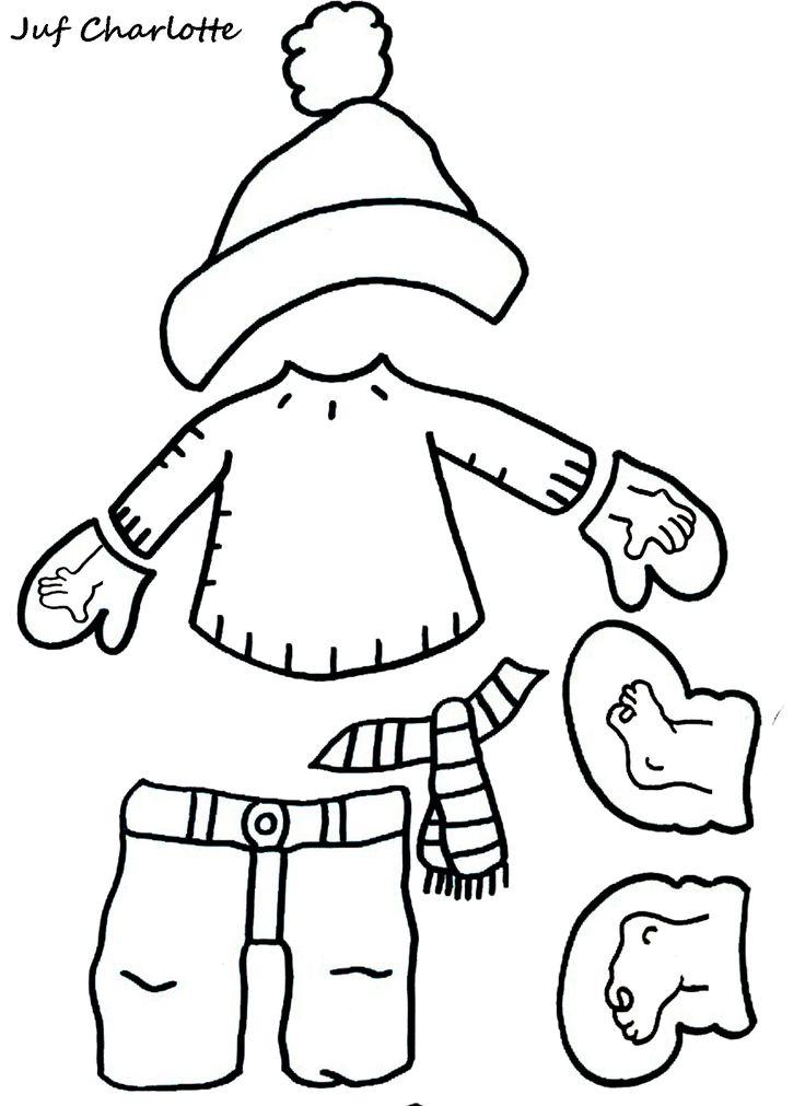 Thema: 'Winter'. Aankleedspel deel 3.