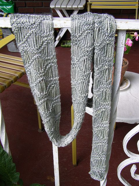 Knitting Pattern For Waterfall Scarf : 183 best images about Knitty knot knot on Pinterest Free pattern, Ribs and ...