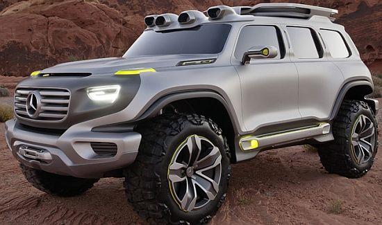 Mercedes Ener-G-Force, o SUV de 2025 movido movido a hidrogênio