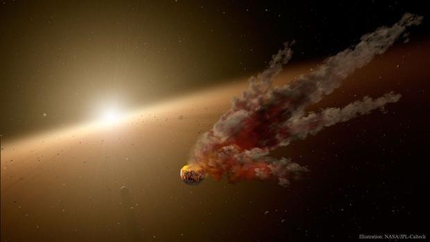 La destrucción de un planeta, posible explicación del inquietante comportamiento de la estrella de Tabby Cuando en octubre de 2015 los astrónomos, encabezados por  Tabetha (Tabby) Boyajian, se toparon con la estrella KIC 8462852, al principio no sabían ... http://sientemendoza.com/2017/01/13/la-destruccion-de-un-planeta-posible-explicacion-del-inquietante-comportamiento-de-la-estrella-de-tabby/