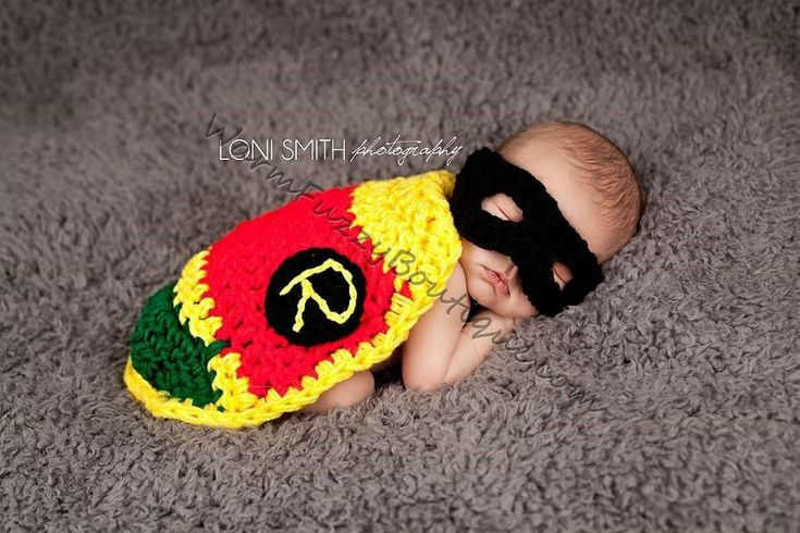 Excited to share the latest addition to my #etsy shop: #Robin Sidekick Mask & Cape - Crochet Baby Newborn Nb Beanie Cap 0-3 months Costume Halloween Winter Outfit #accessories #hat #babies #child #children #costume #beanie #babyshower #Batman http://etsy.me/2DHDEeT