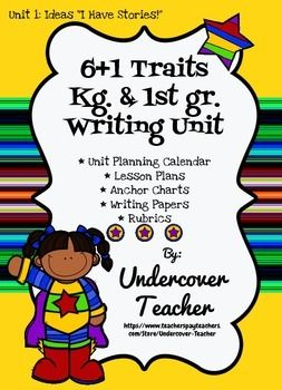 6 plus 1 writing traits lesson plans What is 6 traits writing 6+1 writing because the +1 trait is presentation each mini-lesson lasts about 15 minutes.