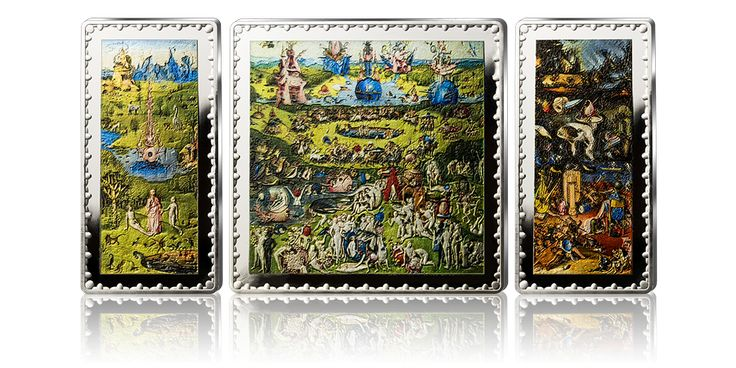 Ogród ziemskich rozkoszy Bosch Skarbnica Narodowa