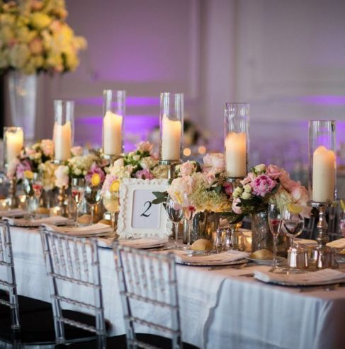 4127 best wedding centerpieces table decor images on pinterest featured photographer asya photography wedding reception idea junglespirit Images