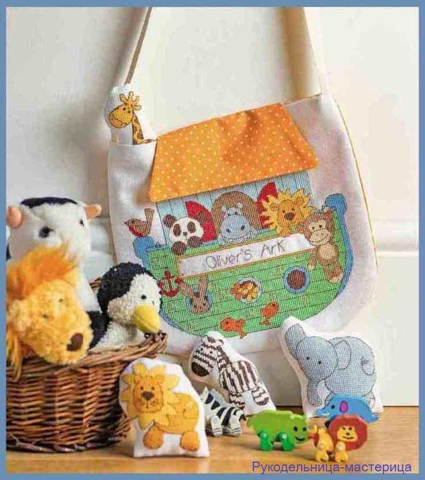Журналы по вязанию и рукоделию.: Зоопарк + сумочка