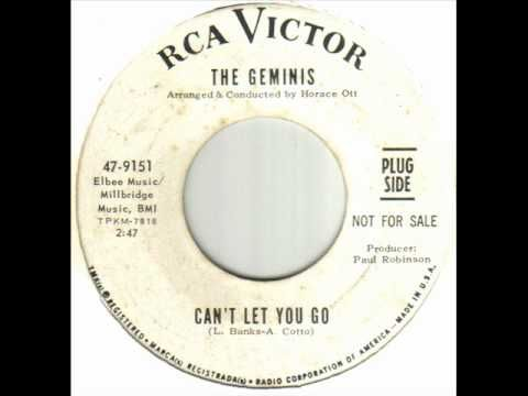 """THE GEMINIS """"I Can't Let You Go"""" b/w """"I Hired a Girl"""" 1968 RCA. Great GIRL GROUP's last 45 w/ a bit of NORTHERN SOUL Feel. Three 45s, '66-68 all w/songs  LARRY BANKS (GO NOW) although known more for their killer version of """"A Friend of Mine Told Me"""" written by ASHFORD &  SIMPSON (Covered by ANGLIANS aka MOVING FINGER) I love late GIRL GROUP 45s long after the trend.. Like ST LOUIS UNION,  WASHINGTON DCs & producers like MIKI DALLON that unfashionably kept MOD alive in the height of…"""