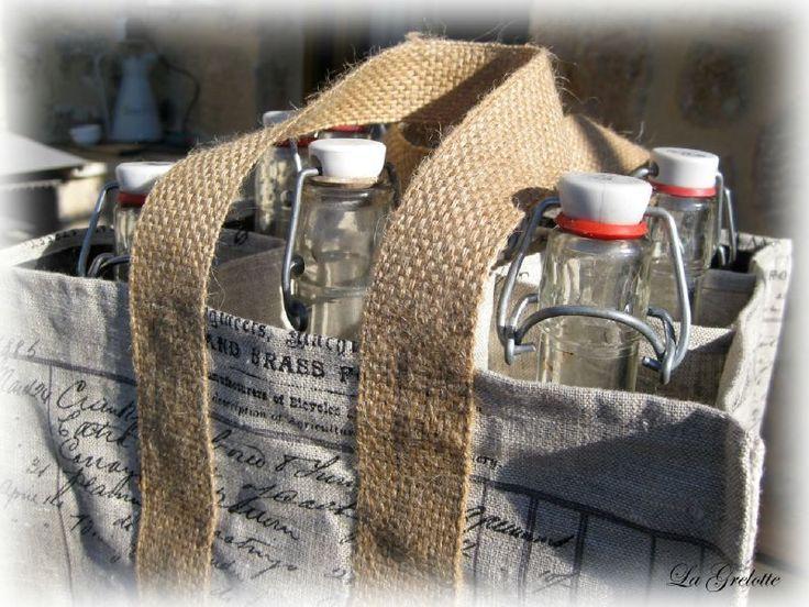 Tuto sac 6 bouteilles