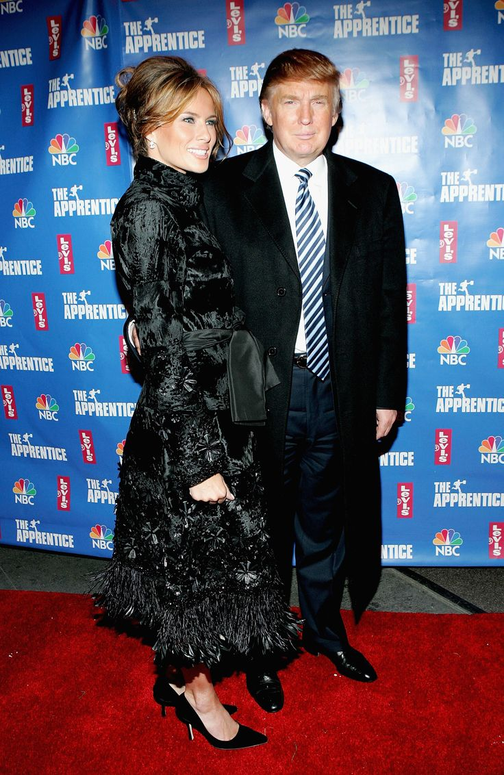 NEW YORK - DECEMBER 16: Melania Knauss and Donald Trump attend the after party for the final episode of 'The Apprentice 2' at the Roseland Ballroom December 16, 2004 in New York City. (Photo by Paul Hawthorne/Getty Images) via @AOL_Lifestyle Read more: http://www.aol.com/article/lifestyle/2016/11/10/ivanka-trump-style/21603497/?a_dgi=aolshare_pinterest#fullscreen