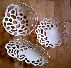 pierced pottery bowls - Google Search