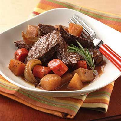 #Slowcooker Pot Roast #recipe