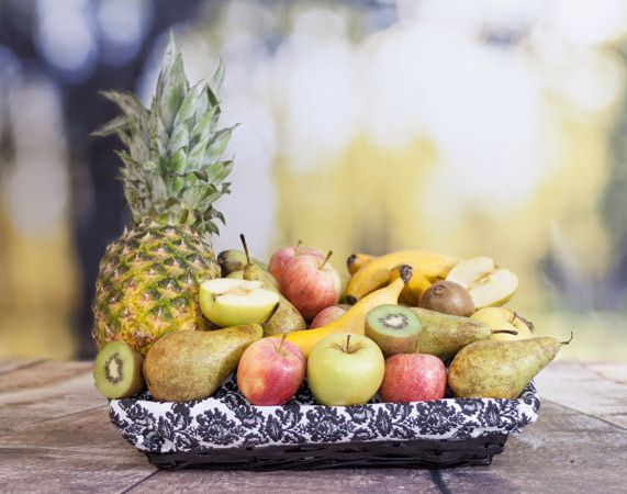 Cesta de frutas a domicilio