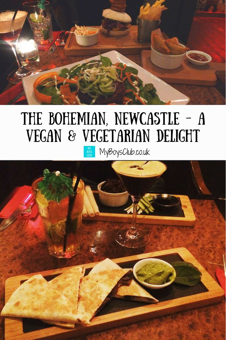 Looking for a restaurant that serves delicious vegan and vegetarian food in North East England- then read our review of The Bohemian on OPink Lane in Newcastle-upon-Tyne