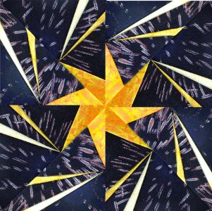 Foundation Pieced Fireworks » Arbee Designs blog--this makes me want to consider trying to learn paper piecing