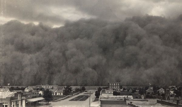 an overview of the dustbowl of america in the 1930s The great depression was caused by many different factors including false sense of prosperity in america, the 1929 stock market crash, bank failures, lack of credit, bankruptcies, unemployment, reduction in purchasing, american economic policy and failures by the federal reserve, loss of exports, drought conditions and the dust bowl.