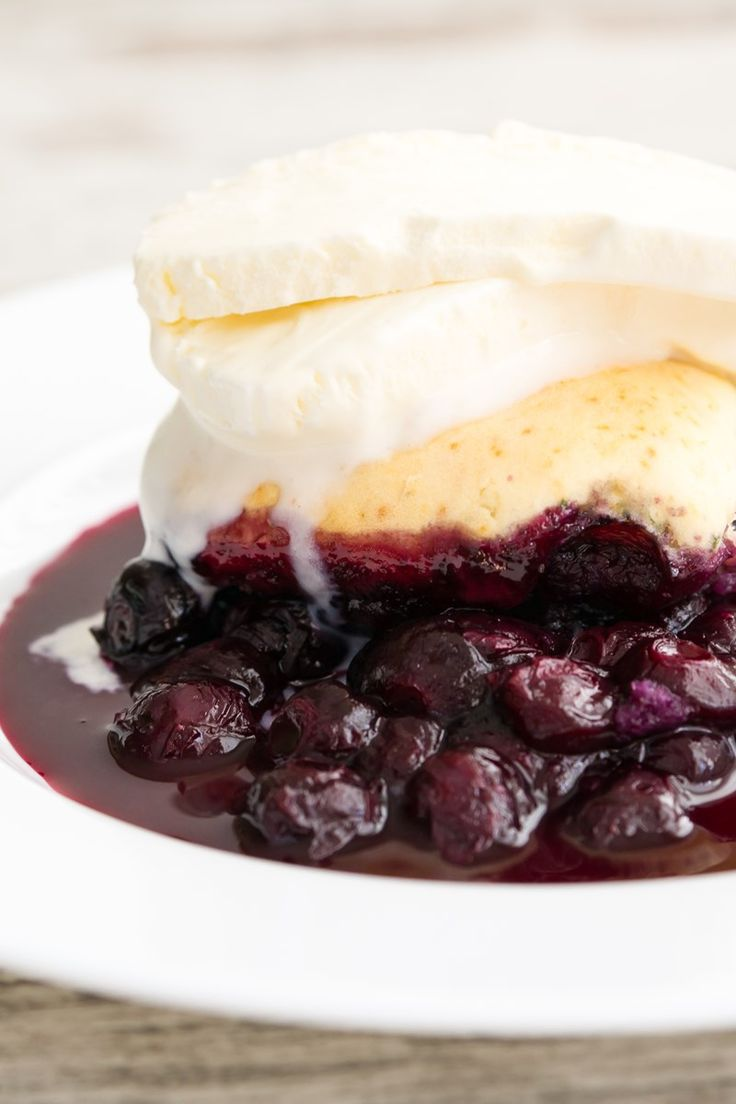 Blueberry Cobbler (Weight Watchers)
