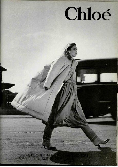 1980-81 - Karl Lagerfeld for Chloe adv
