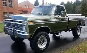 Image result for 1975 ford f250 ranger 4x4 for sale