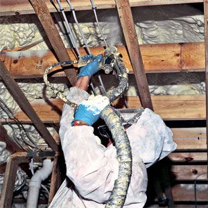 13 best spray foam insulation others who have used spray foam spraying foam insulation in an attic and options solutioingenieria Choice Image