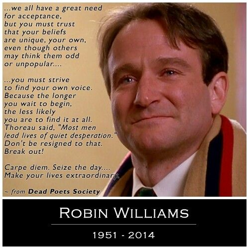 Obscure Robin Williams Quotes: 163 Best Dead Poets Society Images On Pinterest
