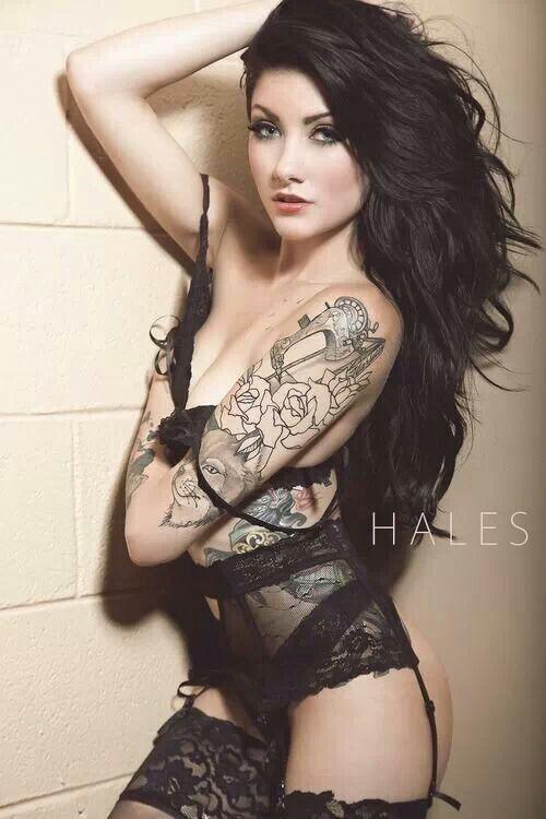 tattoos babes seks