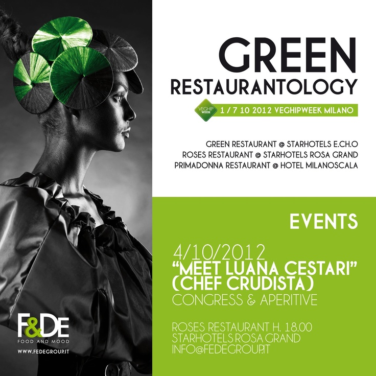 Evento da non perdere che rientra nel percorso gastronomico Healthy Sexy Veg #VegHipWeek2 #Milano #rawfood #rawvegan #showcooking