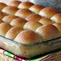 Soft 100% Whole Wheat Rolls are so delicious! So good warm!: