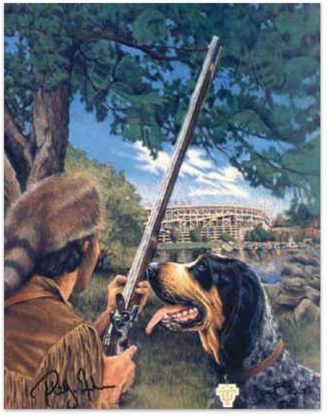 Daniel Boone and Smokey