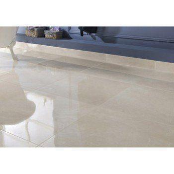 Carrelage sol et mur creme effet marbre Trieste l.60 x L.60 cm | Leroy Merlin