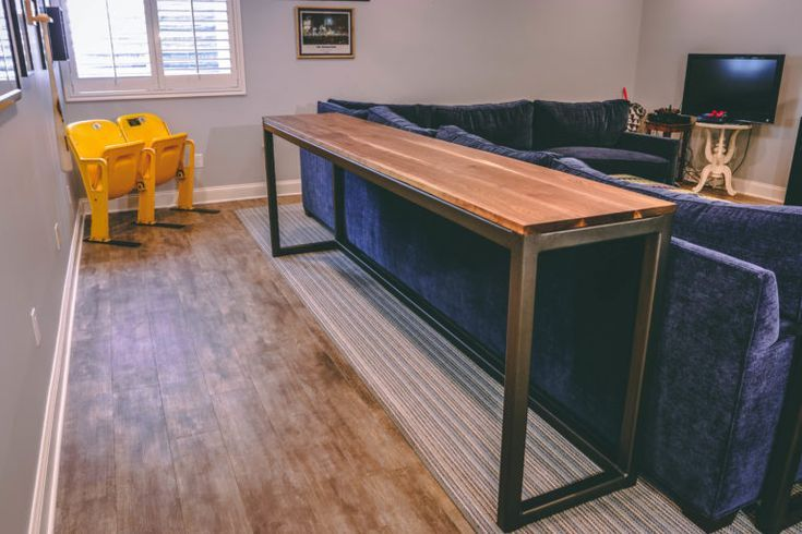 DIY Woodworking Ideas Sofa Table Detail Shot #woodworking #diy #Furniture #Woodworkingtools #Woodworki...