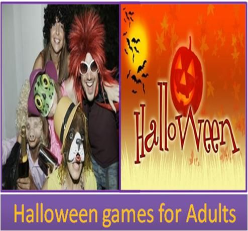 Halloween games for adults stepbystep arts for Halloween party games for preschoolers