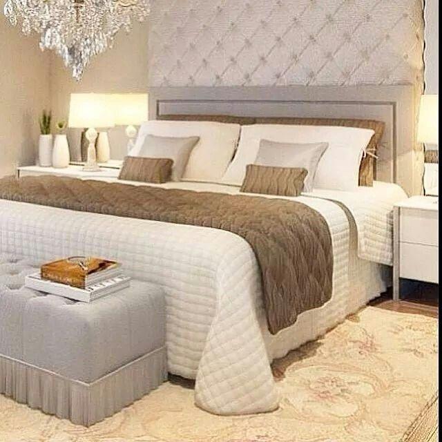 Bedroom Decor, Bedroom Ideas, Master Bedrooms, Ideas Para, Interior Design,  Puff, Dream Book, Contemporary Decor, White Rooms Part 90