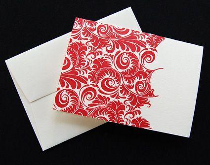 Pistachio PressBeautiful Letterpresses, Cards Sets, Red Pattern, Letterpresses Greeting, Greeting Cards, Letterpress Design, Beautiful Red, Letterpresses Stuff, Pistachios Press