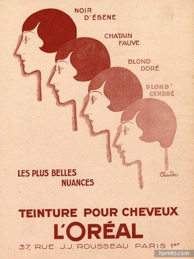L'Oréal (Hair Care) 1927 Jean Claude